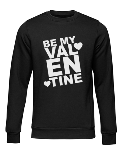 be my valentine black sweater