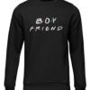 boyfriend black sweater