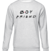 boyfriend grey sweater