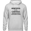 coffee and contemplation Grey Hoodie jb