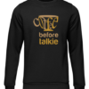 coffee before talkie black sweater