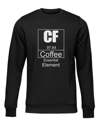 coffee essential element black sweater