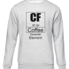 coffee essential element grey sweater