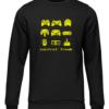 control freak black sweater