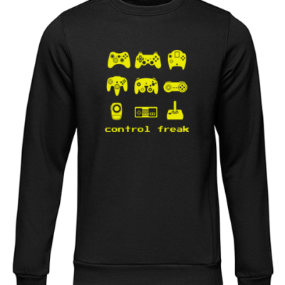 control freak black sweater