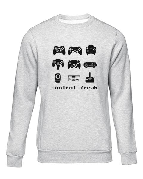 control freak grey sweater