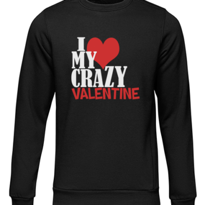 crazy valentine black sweater