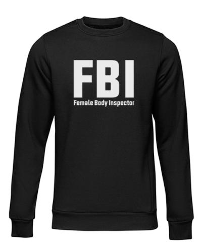 fbi black sweater