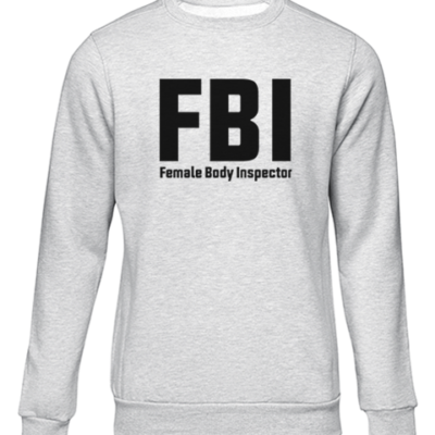 fbi grey sweater