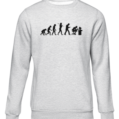 gamer evolution grey sweater