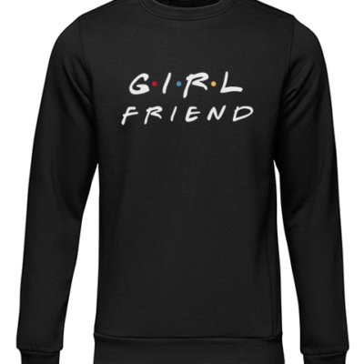 girlfriend black sweater
