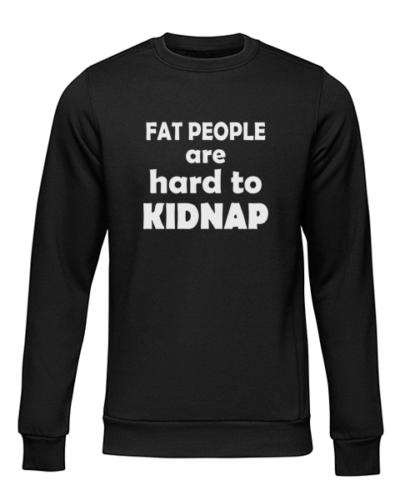 hard to kidnap black sweater