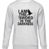 i am the sword grey sweater