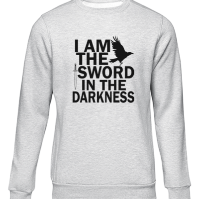 i am the sword grey sweater