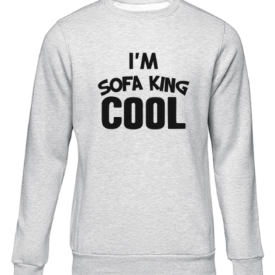 im sofa king cool grey sweater