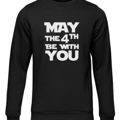 may the 4th black sweater