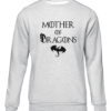 mother of dragons grey sweater