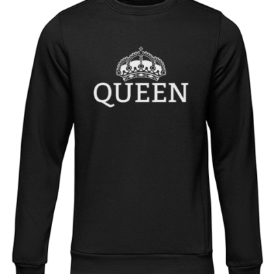 queen black sweater
