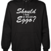 should i stay Black Hoodie jb