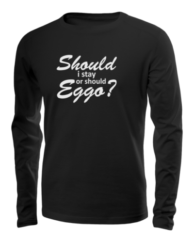 should i stay long sleeve black
