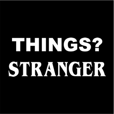 things stranger black square