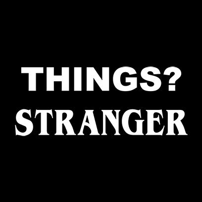 things stranger black square