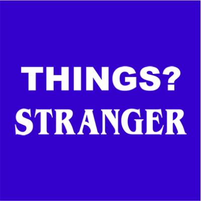 things stranger blue square