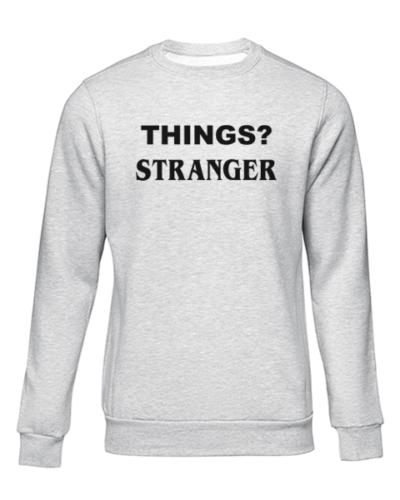 things stranger grey sweater