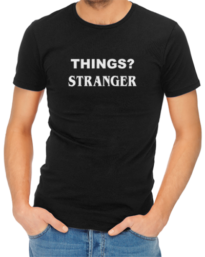 things stranger mens tshirt black