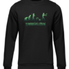 zombievolution black sweater