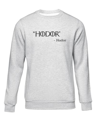 hodor grey sweater