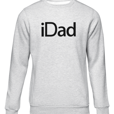 idad grey sweater