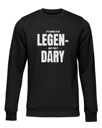 legendary black sweater