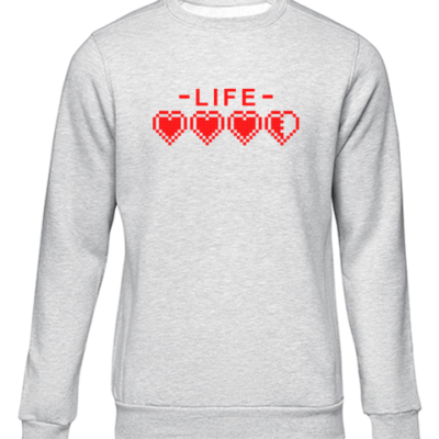 life grey sweater