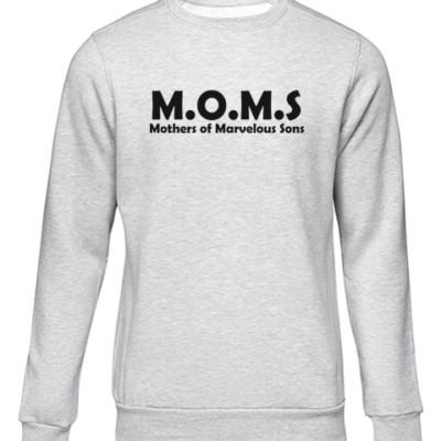 m.o.m.s. grey sweater