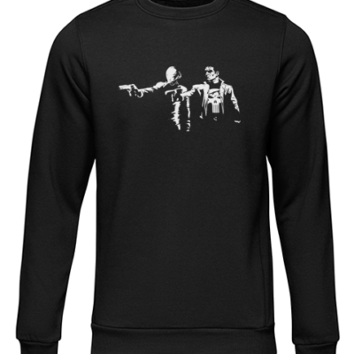pulp fiction dare black sweater