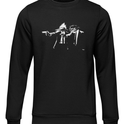 pulp fiction regulars black sweater