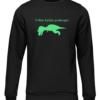 t rex hates push ups black sweater