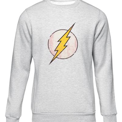the flash bbt grey sweater