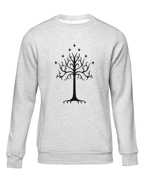 the tree of gondor grey sweater