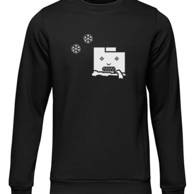 unresponsive browser black sweater