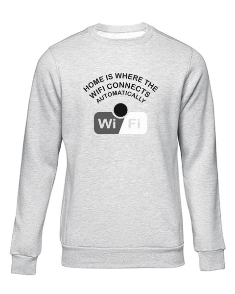wifi grey sweater