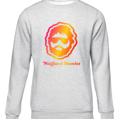 wolfpack member grey sweater