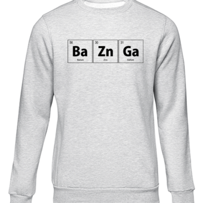 baZnGa grey sweater
