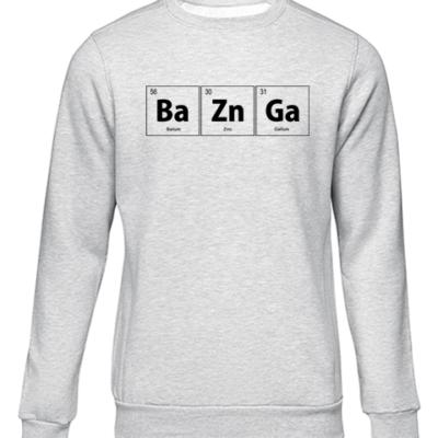 baZnGa grey sweater