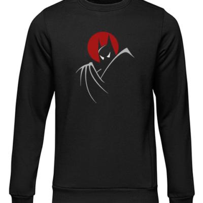 batman moonlight black sweater