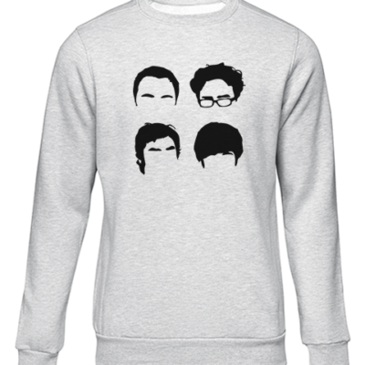 bbt cast grey sweater