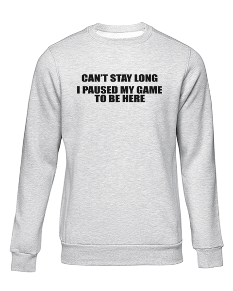 cant stay long grey sweater