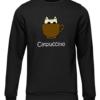 catpuccino black sweater