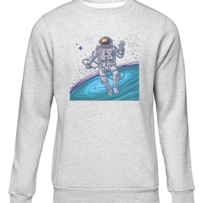 cosmonaut grey sweater